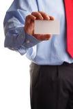 визитная карточка здесь моя Стоковая Фотография