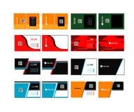 Визитная карточка корпоративного бизнеса 04 Стоковая Фотография RF