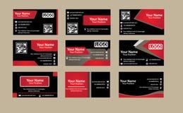 Визитная карточка корпоративного бизнеса Стоковые Фотографии RF