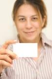 визитная карточка моя Стоковые Изображения