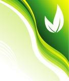 визитная карточка относящая к окружающей среде Стоковые Фотографии RF