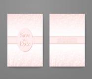 Визитная карточка с кварцем ультрамодного цвета розовым Стоковые Фото
