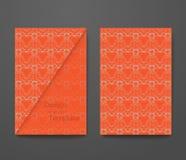 Визитная карточка с текстом образца Стоковые Фотографии RF