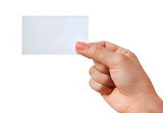 визитная карточка Стоковые Изображения RF