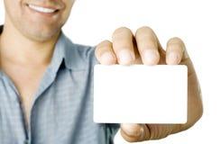 визитная карточка Стоковые Изображения