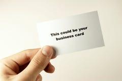 визитная карточка 2 стоковые фото