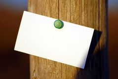 визитная карточка Стоковые Фотографии RF
