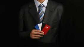визитная карточка 6 Стоковое Изображение RF