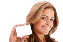 визитная карточка Стоковое Изображение RF
