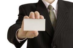 визитная карточка Стоковая Фотография