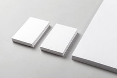 Визитная карточка & Letterhead Стоковые Фото