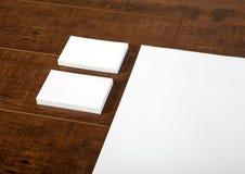 Визитная карточка & Letterhead Стоковое Изображение