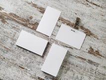 Визитные карточки, значок Стоковое фото RF