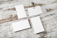 Визитные карточки и значок Стоковые Изображения RF