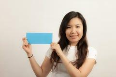 Визитные карточки и пустые знаки Стоковое фото RF