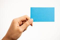 Визитные карточки и пустые знаки Стоковое Изображение RF