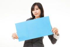 Визитные карточки и пустые знаки Стоковая Фотография RF
