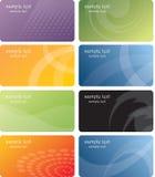 визитные карточки конструируют шаблон Стоковые Изображения RF
