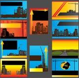 визитные карточки урбанские Бесплатная Иллюстрация