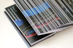 Визитные карточки фотографии Стоковое Изображение