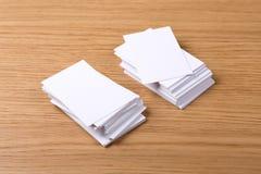 Визитные карточки Стоковое Изображение RF