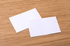 Визитные карточки Стоковая Фотография