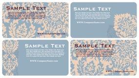 визитные карточки Стоковые Изображения RF