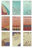 визитные карточки Стоковая Фотография RF
