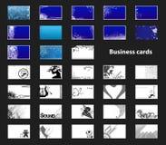 визитные карточки Бесплатная Иллюстрация