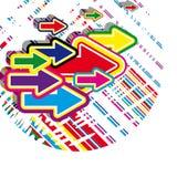 визитные карточки Стоковые Фотографии RF