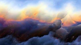 Визуализирование атмосферы чужеземца Стоковое Изображение RF