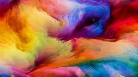 Визуализирование краски цифров Стоковое Изображение RF