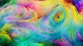 Визуализирование краски цифров Стоковое Фото