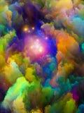 Визуализирование цветового пространства иллюстрация штока