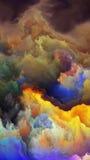 Визуализирование атмосферы чужеземца Стоковое Фото