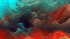 Визуализирование атмосферы чужеземца Стоковая Фотография RF