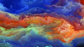 Визуализирование атмосферы чужеземца Стоковые Изображения RF