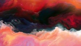 Визуализирование атмосферы чужеземца Стоковые Изображения