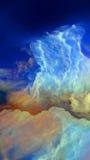 Визуализирование атмосферы чужеземца Стоковые Фото