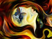 Визуализирование внутренней краски Стоковые Изображения