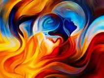 Визуализирование внутренней краски Стоковое Изображение
