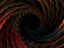 Визуализирование космоса иллюстрация вектора