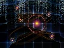 Визуализирование связей технологии Стоковые Фотографии RF