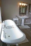 викторианец ванной комнаты Стоковые Изображения