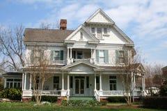 викторианец дома симпатичное Стоковое Изображение