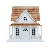 викторианец изолированное домом Стоковое Изображение