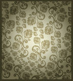 викторианец розы картины безшовное Стоковые Фотографии RF