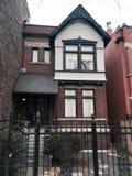 Викторианец улицы прибоя Стоковое Фото