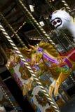 викторианец carousel старое Стоковые Изображения RF