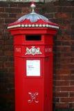 викторианец postbox Стоковые Фотографии RF